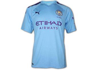 Puma Manchester City Heim Trikot 19/20 – Bild 3