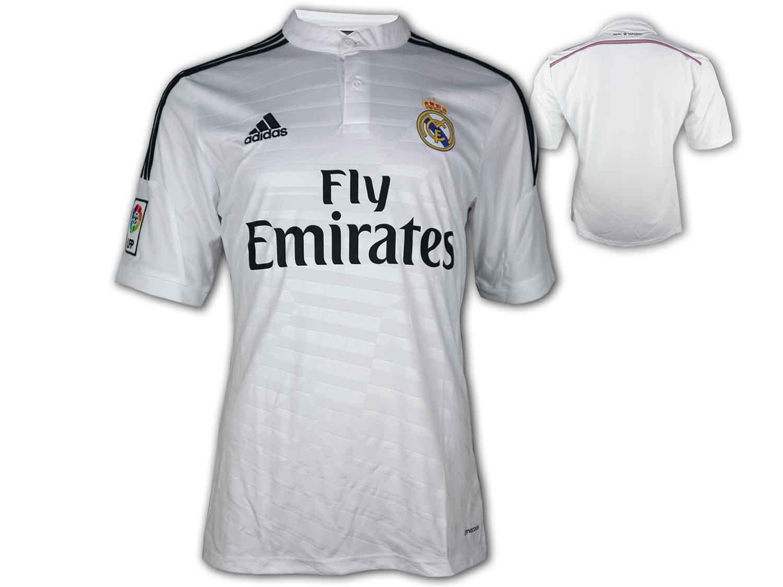 adidas Real Madrid Home Jersey LFP