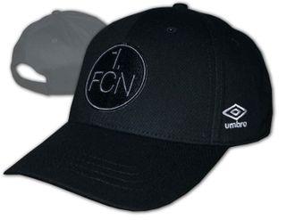 Umbro 1. FC Nürnberg Black 3D Cap – Bild 1