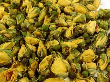 Rosenknospen gelb Naturideen® 50g – Bild 1