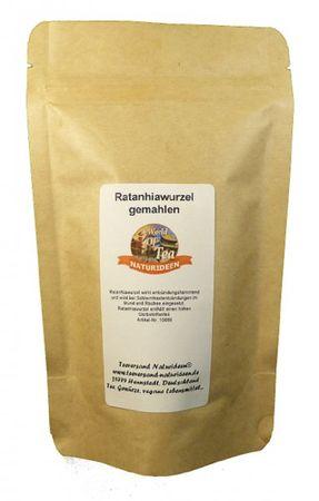 Ratanhiawurzel gemahlen Naturideen® 100g – Bild 2
