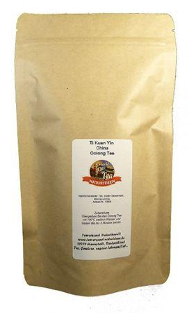 Ti Kuan Yin China Oolong Tee Naturideen® 100g – Bild 2