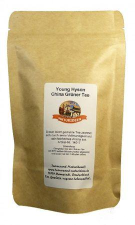 Young Hyson China Grüner Tee Naturideen® 100g – Bild 2