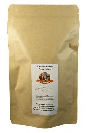 Ananas Kokos Früchtetee Naturideen® 100g – Bild 2
