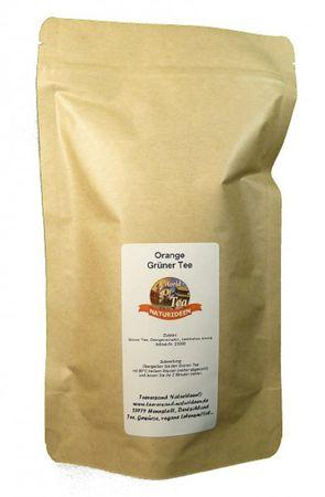Orange Grüner Tee Naturideen® 100g – Bild 2
