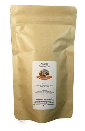 Ananas Grüner Tee Naturideen® 100g – Bild 2