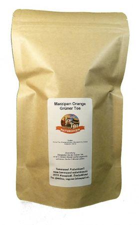 Marzipan Orange Grüner Tee Naturideen® 100g – Bild 2