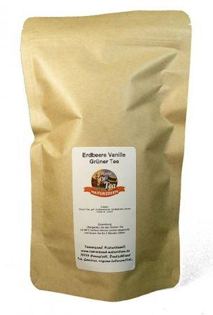 Erdbeere Vanille Grüner Tee Naturideen® 100g – Bild 2