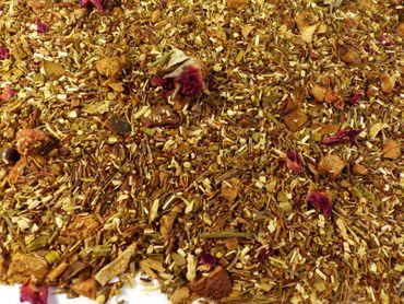 Erdbeer Kiwi Honeybush Tee Naturideen® 100g – Bild 1