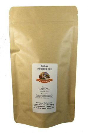 Kokos Rooibos Tee Naturideen® 100g – Bild 2