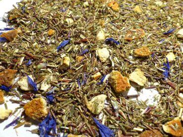 Earl Grey Orange Grüner Rooibos Tee Naturideen® 100g – Bild 1