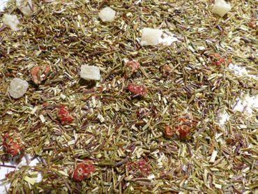 Ananas Erdbeere Grüner Rooibos Tee Naturideen® 100g – Bild 1