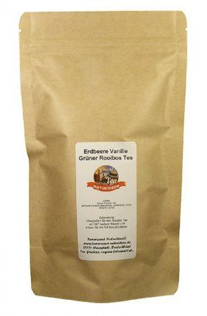 Erdbeere Vanille Grüner Rooibos Tee Naturideen® 100g – Bild 2