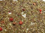 Erdbeere Vanille Grüner Rooibos Tee Naturideen® 100g