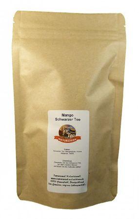 Mango Schwarzer Tee Naturideen® 100g – Bild 2