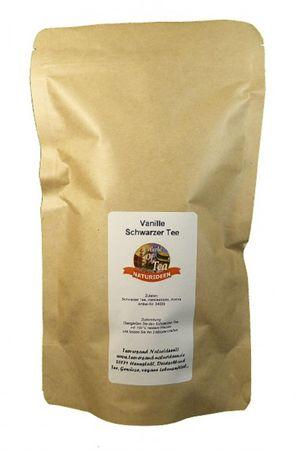 Vanille Schwarzer Tee Naturideen® 100g – Bild 2