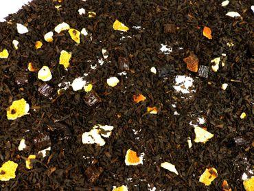 Orange Vanille Schwarzer Tee Naturideen® 100g – Bild 1
