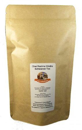 Chai Rashne Hindra Schwarzer Tee Naturideen® 100g – Bild 2