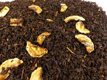 Banane Schwarzer Tee Naturideen® 100g – Bild 1