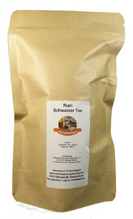 Rum Schwarzer Tee Naturideen® 100g – Bild 2