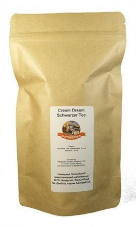 Cream Dream Schwarzer Tee Naturideen® 100g – Bild 2