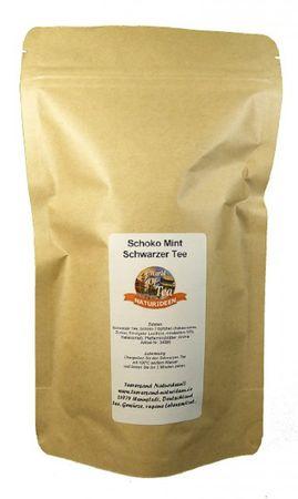 Schoko Mint Schwarzer Tee Naturideen® 100g – Bild 2