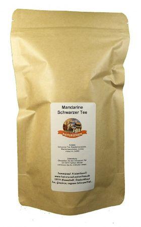 Mandarine Schwarzer Tee Naturideen® 100g – Bild 2
