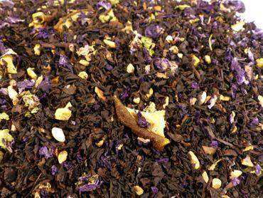 Granatapfel Birne Schwarzer Tee Naturideen® 100g – Bild 1