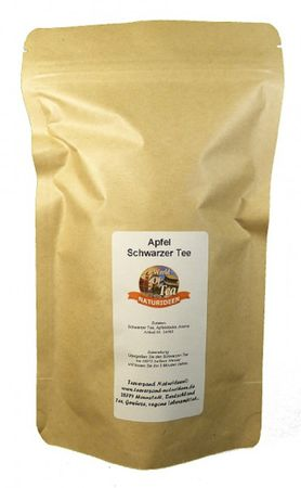 Apfel Schwarzer Tee Naturideen® 100g – Bild 2