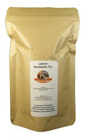 Lemon Schwarzer Tee Naturideen® 100g – Bild 2