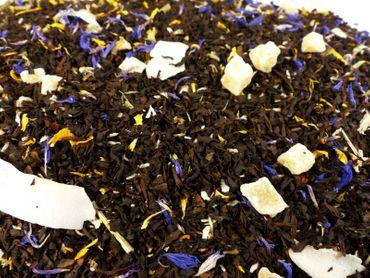 Pina Colada Schwarzer Tee Naturideen® 100g – Bild 1