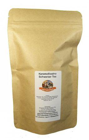 Karamellissino Schwarzer Tee Naturideen® 100g – Bild 2