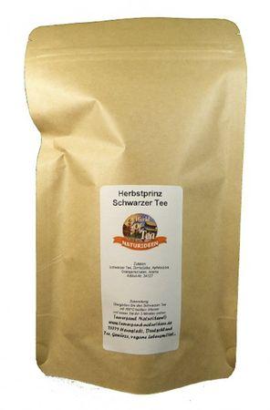 Herbstprinz Schwarzer Tee Naturideen® 100g – Bild 2