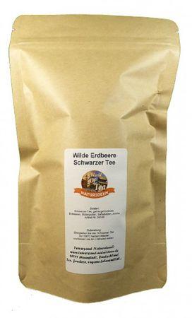 Wilde Erdbeere Schwarzer Tee Naturideen® 100g – Bild 2