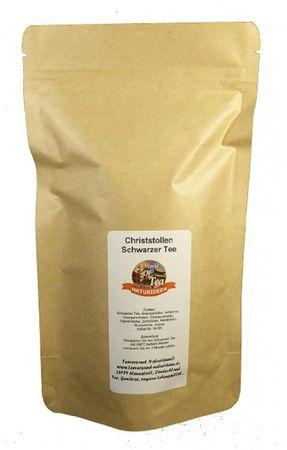 Christstollen Schwarzer Tee Naturideen® 100g – Bild 2