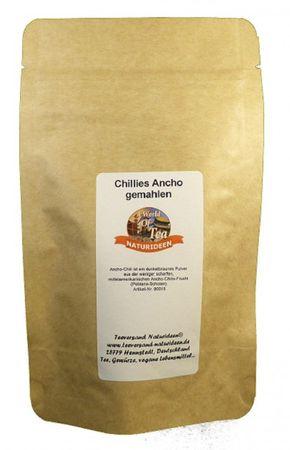 Chillies Ancho gemahlen Naturideen® 50g – Bild 2