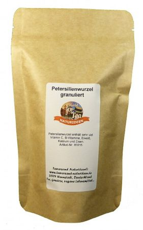 Petersilienwurzel granuliert Naturideen® 100g – Bild 2