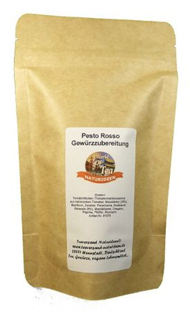 Pesto Rosso Gewürzzubereitung Naturideen® 100g – Bild 2