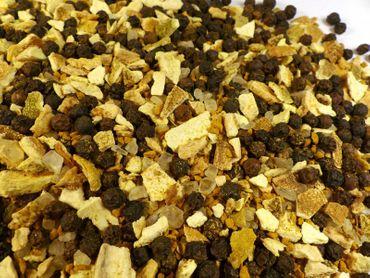 Orangen Pfeffer exotische Gewürzzubereitung für die Mühle Naturideen® 100g – Bild 1