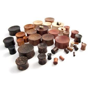 Concave Ear Plugs made of different woods – picture 5