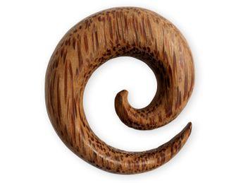 Dehnspiralen große Farbwahl verschiedene Holzarten – Bild 4
