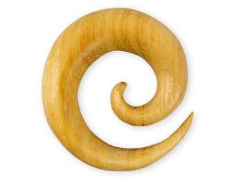 Dehnspiralen große Farbwahl verschiedene Holzarten – Bild 10