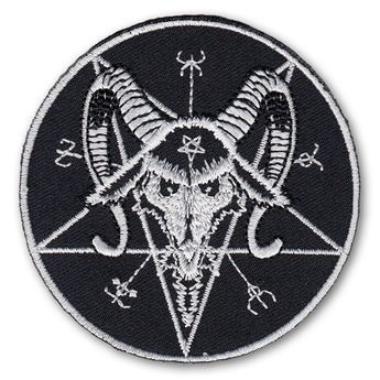 "Parche / Patch ""El Sello de Baphomet"" – picture 1"