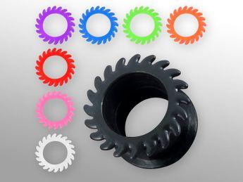 Silikon Tunnel - Sägeblatt - in 8 verschiedenen Farben