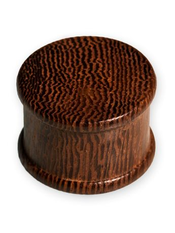 Parasite Wood Ear Plug Brown 4-30mm – picture 2