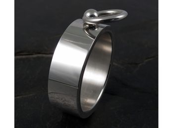 Story Of O Ring Stainless Steel - with removable Slave Ring – picture 3