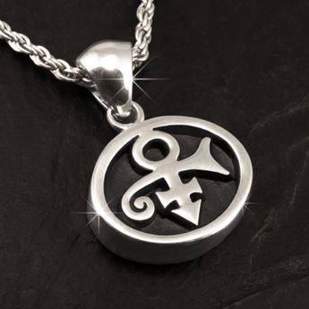 Stainless Steel Pendant - Prince Symbol – picture 2