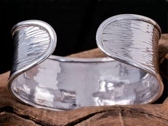 Brazelete hechao mano de plata 925 tribu Karen Hill – picture 5
