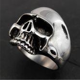 Klassischer Totenkopf Ring Keith Richards