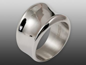 Anillo Noble y Elegante de Acero Inoxidable – picture 1